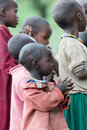 Masai school Royalty Free Stock Photos