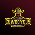 Mascot Cowboy
