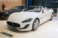 Maserati Gran Cabrio Sport Royalty Free Stock Image