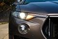 Maserati Levante 2017 Head Light Royalty Free Stock Photo