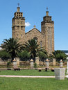 Maseru catholic cathedral the of our lady of victories of the roman archdiocese of leostho Stock Image