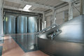 Mash vat brewing production the interior of the brewery nobody Royalty Free Stock Image