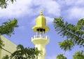 Masjid al-Azeez Moosa Minaret Royalty Free Stock Photo