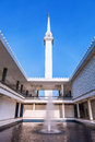 Masjid in malaysia with bule sky Royalty Free Stock Images