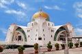 Masjid selat melaka malacca straits mosque it is a mosque located on the man made malacca island near malacca town malaysia Royalty Free Stock Image