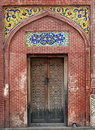 Masjid Wazir khan Traditional Gate Stock Images