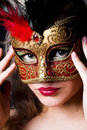 The mask Royalty Free Stock Images