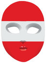 Mask Austria Royalty Free Stock Photography
