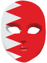 Mask Bahrain Royalty Free Stock Image