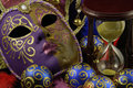 Mask and baubles Royalty Free Stock Photo