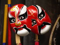 Mask of beijing opera the traditional in china Stock Photos