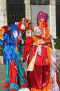 Mask of Carnival of Venice Stock Photos