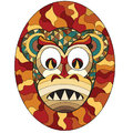 Mask of evil monkey