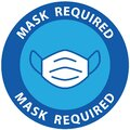 Mask required for salf preventing virus Royalty Free Stock Photo