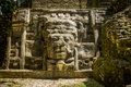 Mask Temple, Lamanai Ruins Royalty Free Stock Photo