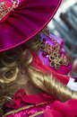 stock image of  Masked woman during the Venice carnival