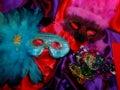 Maski mardi gras Zdjęcie Royalty Free