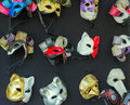 Masks colour venetian carnival painted Royalty Free Stock Photo