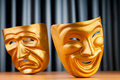 Masks - the theatre concept Royalty Free Stock Photography
