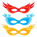 Masks vector carnival for masquerade Stock Images