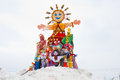 Maslenitsa russian religious holiday the Royalty Free Stock Photos
