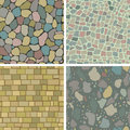 Masonry patterns Stock Image