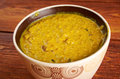Masoor dal red lentils curry indian dish Royalty Free Stock Image