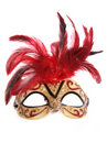 Masquerade mask cutout Royalty Free Stock Photography