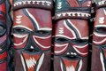 Masques africains Image stock