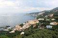 Massa lubrense is at the tip of the sorrento peninsula in the south of italy it was known to the romans who held sporting Royalty Free Stock Photo