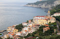 Massa lubrense is at the tip of the sorrento peninsula in the south of italy it was known to the romans who held sporting Royalty Free Stock Image