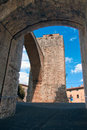 Massa Marittima - The Tower Royalty Free Stock Photography