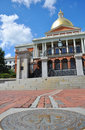 Massachusetts State House, Boston Stock Image