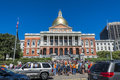 Massachusetts State House Protest