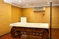 Massage treatment room Royalty Free Stock Photo