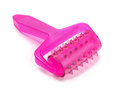 Massager pink on a white background Royalty Free Stock Images