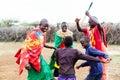 Massai Family Celebrating And ...