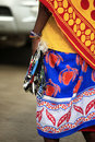 Massai Woman Sells Souvenirs T...