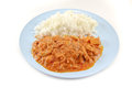 Massaman curry tuna Stock Image