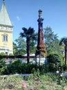 The Massandra Palace. Royalty Free Stock Photo
