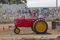 Massey Harris Super 101 Tractor Pulling Royalty Free Stock Images