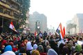 Massive demonstration cairo egypt nov thousands of islamist protesters flocked to s tahrir square people were reported dead and Stock Photo