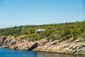 Massive Home on Coast of Maine Royalty Free Stock Photo