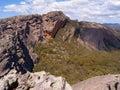 Massive Sandstone Cliff Royalty Free Stock Image
