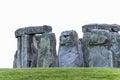 Massive stone trilithons of Stonehenge World Heritage site, Sali Royalty Free Stock Photo