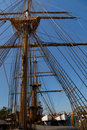 Mast sailing ship Royalty Free Stock Photography