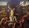 Master of the Twelve Apostles: Resurrection Royalty Free Stock Photo