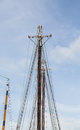 Masts Against Sky Royalty Free Stock Photo