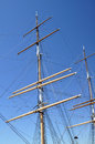 Masts and rigging Stock Photography