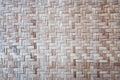 Mat background di bambù tailandese nordico texture Immagini Stock Libere da Diritti